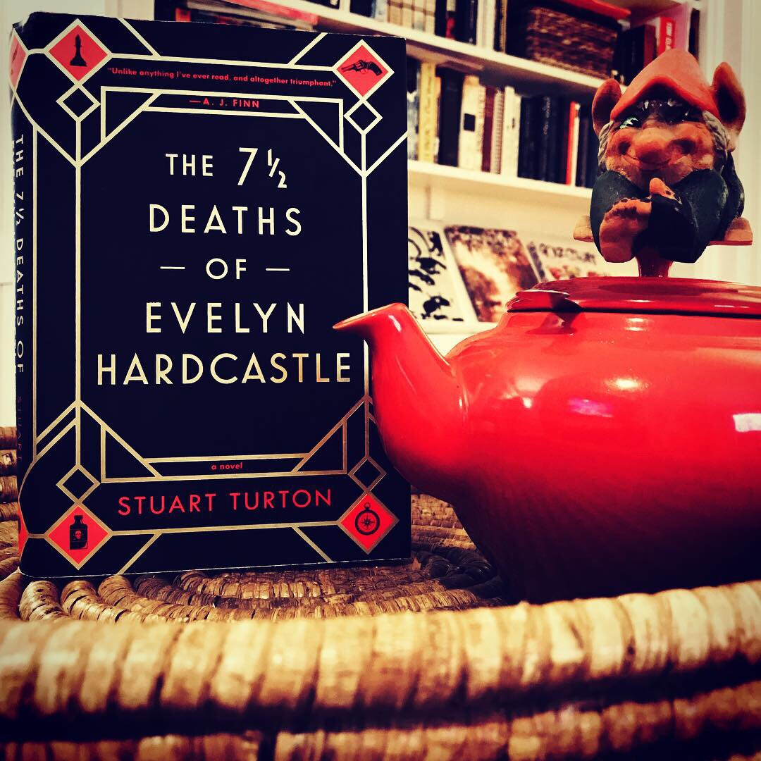 Book review Stuart Turton 7 deaths of evelyn hardcastle mystery fiction