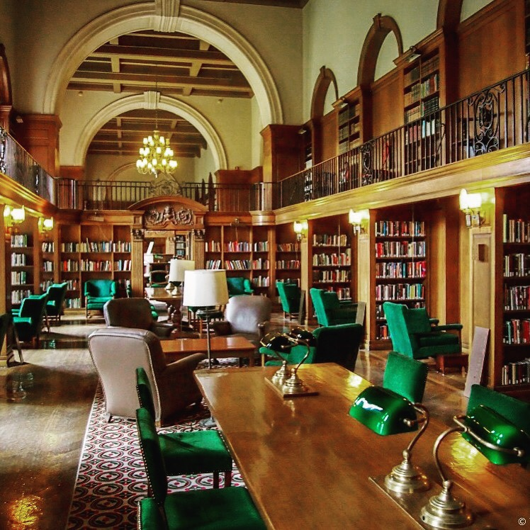 Dartmouth  reading room library